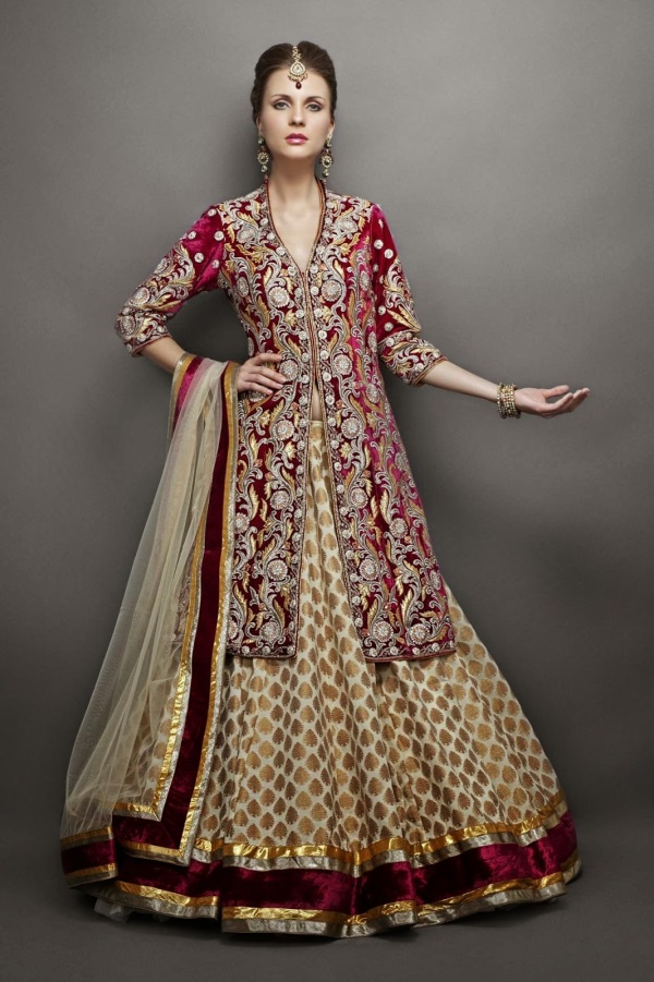 Indian evening gowns for wedding reception looks | B2B Fashion on New Get Design  id=74180