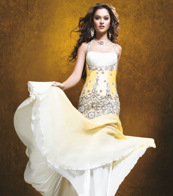 Evening Gowns For Wedding Reception: Indian Evening Gowns For Wedding Reception Looks