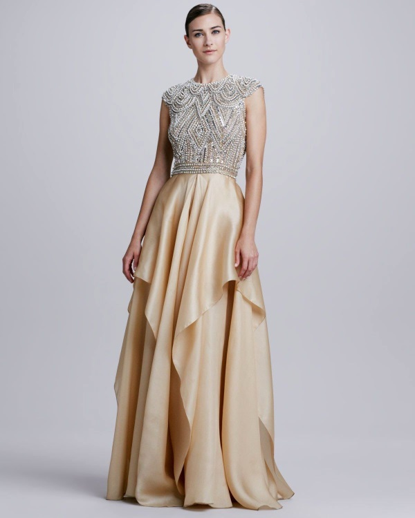 Evening Gowns For Wedding Reception: Indian Evening Gowns For Wedding Reception 2016-2017