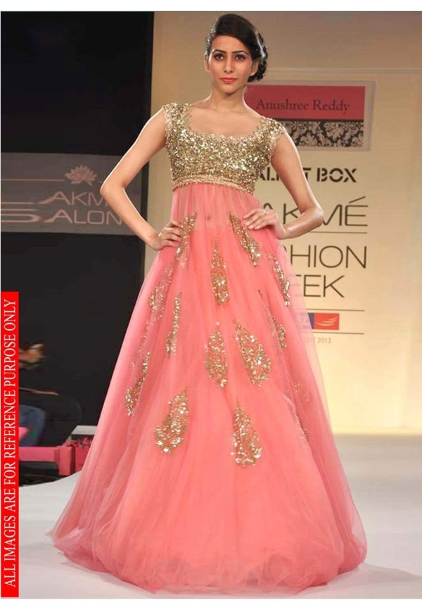 fcc6df30279 Designer evening gowns for wedding reception looks
