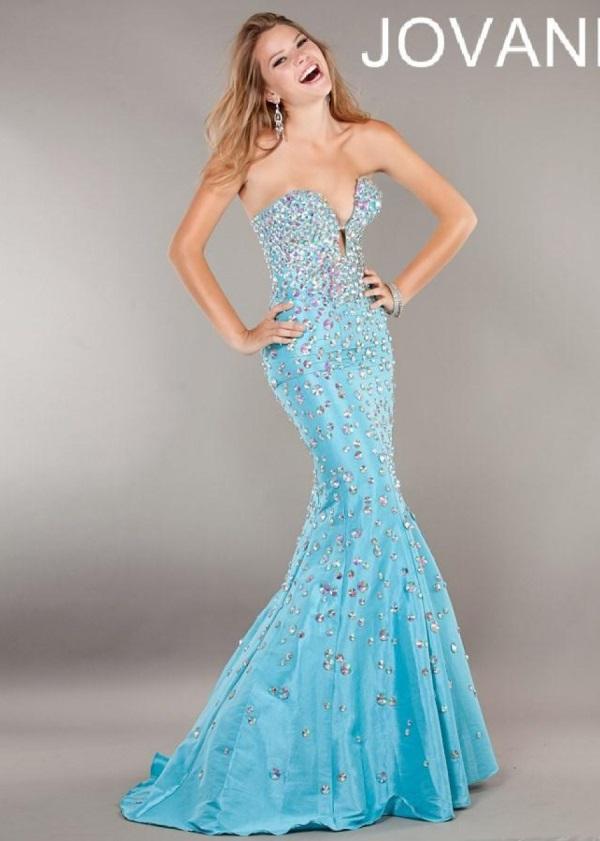 Mermaid aqua prom dresses exclusive photo