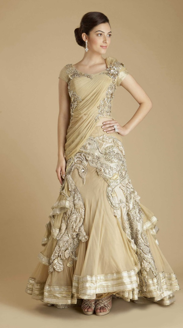 Designer evening gowns for wedding reception 2016 2017 for Evening dresses for wedding reception