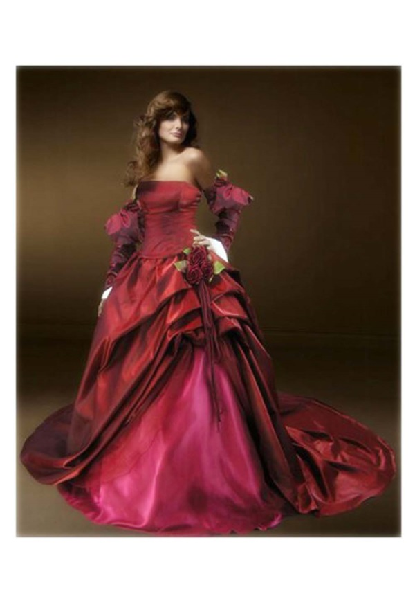 Purple Steampunk Wedding Dress Looks B2b Fashion