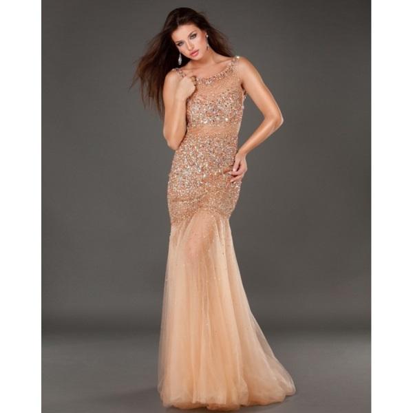 Rose gold prom dress looks | B2B Fashion
