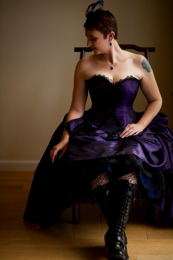 Purple Steampunk Wedding Dress 2016 2017 B2b Fashion