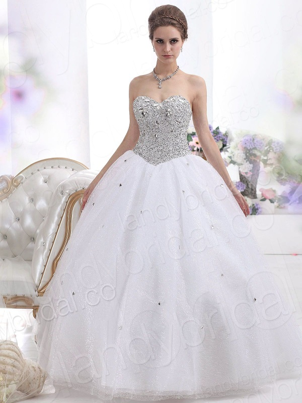 Ball Gown Wedding Dresses With Sleeves And Bling Looks
