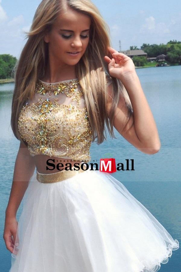 Beautiful Two Piece Prom Dresses Looks B2b Fashion