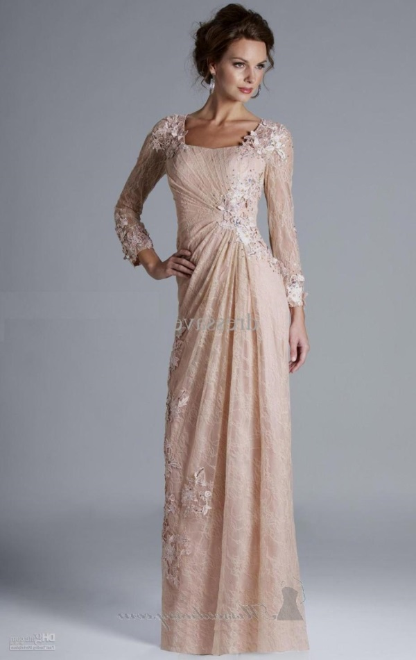 Beautiful evening gowns with sleeves 2017-2018