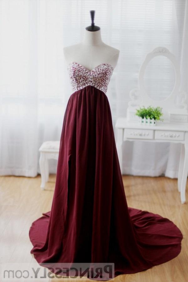 Maroon Prom Dresses 2017 2018 B2b Fashion