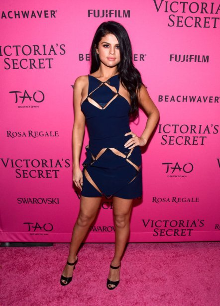 NEW YORK, NY - NOVEMBER 10: Selena Gomez attends the 2018 Victoria's Secret Fashion After Party at TAO Downtown on November 10, 2018 in New York City. (Photo by Grant Lamos IV/Getty Images)