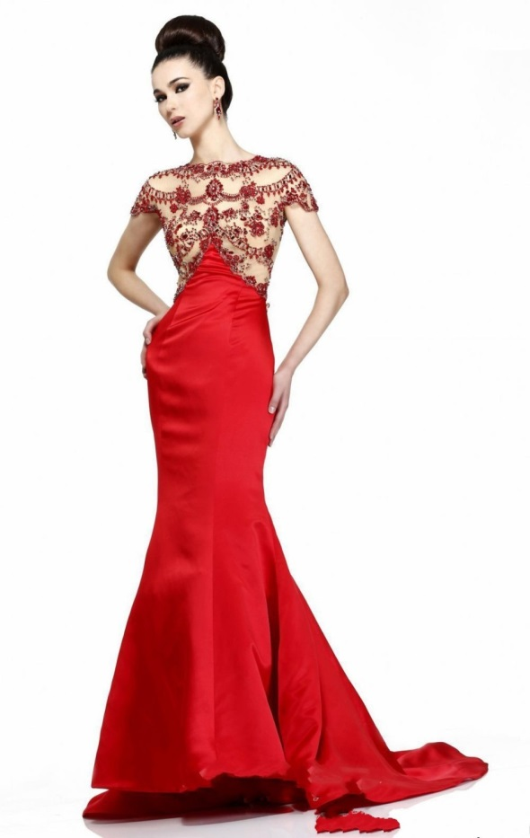 Beautiful long dresses with sleeves 2016-2017