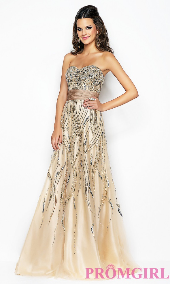 Gold Junior Dress