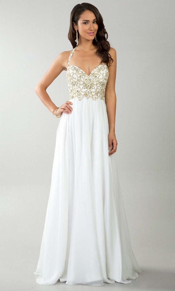 509be0f1047 GALLERY  More video  Amazing white prom dresses