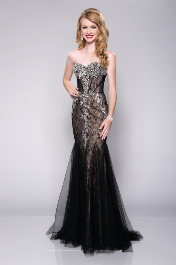 Black mermaid prom dresses 2016 2017 b2b fashion for Wedding dress shops in okc