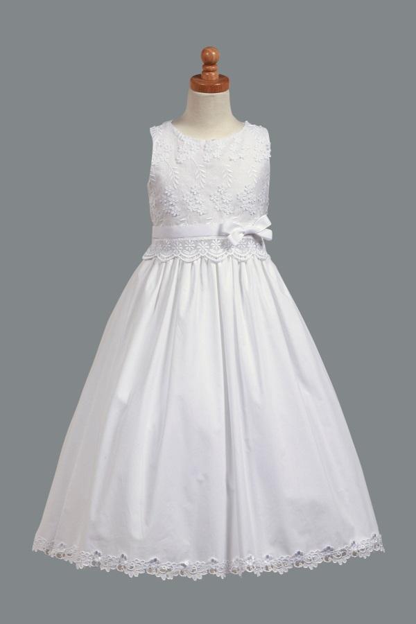 Cute White Dresses For Confirmation 2017 2018 B2b Fashion