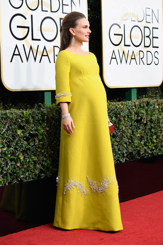 Natalie Portman's dress Golden Globes