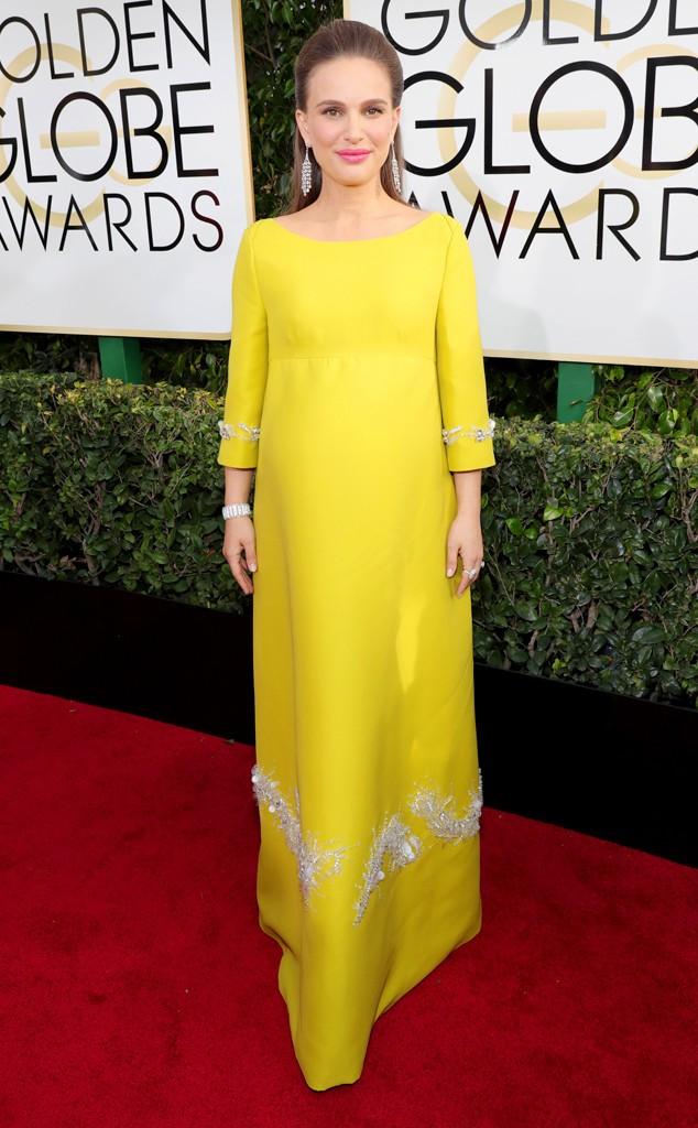 Natalie Portman's dress Golden Globes2
