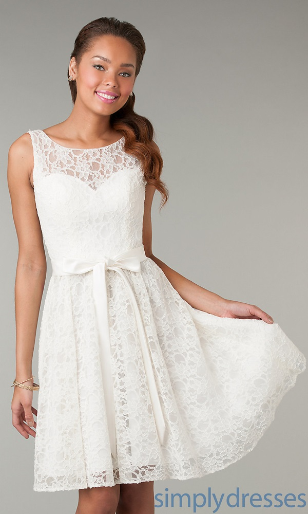 Cute white dresses for confirmation 2017-2018   B2B Fashion