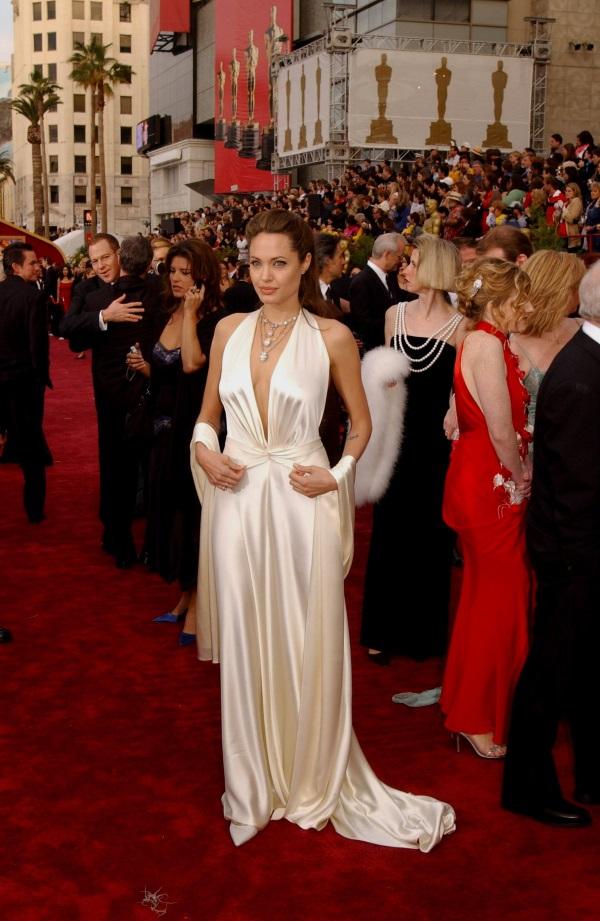 Angelina Jolie Oscar Dresses Looks B2b Fashion