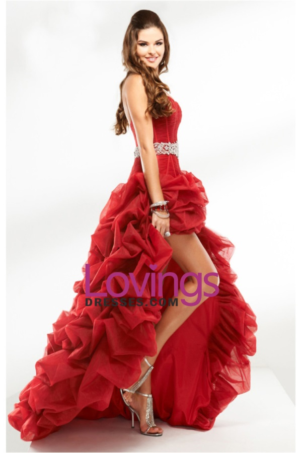 Most Beautiful Red Prom Dresses In The World 2016 2017