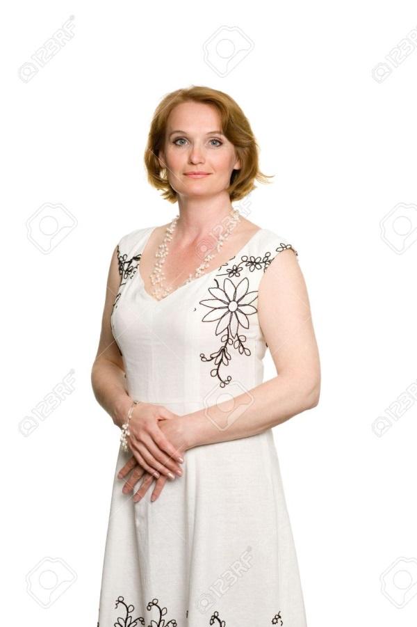 Фото женщин 35 лет в красивых платьях