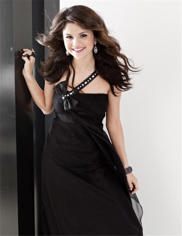 Selena Gomez Black Dress 2016 2017 B2b Fashion