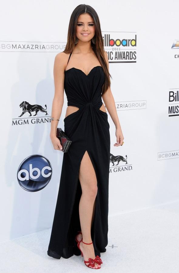 Selena Gomez Black Dress Looks B2b Fashion