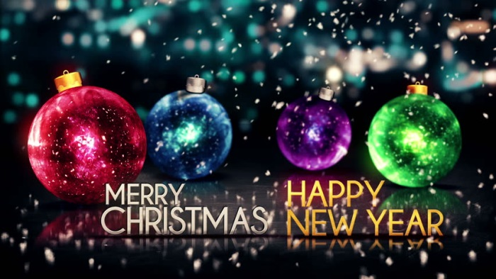 Merry christmas and happy new year images 2017 2018 b2b for Holiday themed facebook cover photos