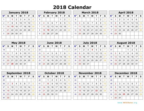 calendar july 2018 to june 2018