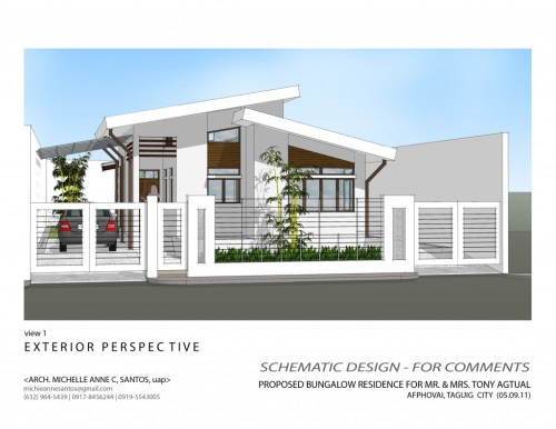 7 1 - View Small Modern Bungalow House Plans In Nigeria  Images