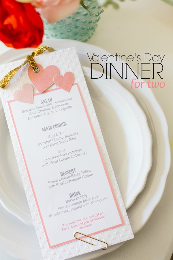 Valentines day menu images 2016 2017 b2b fashion for Best valentines day meals