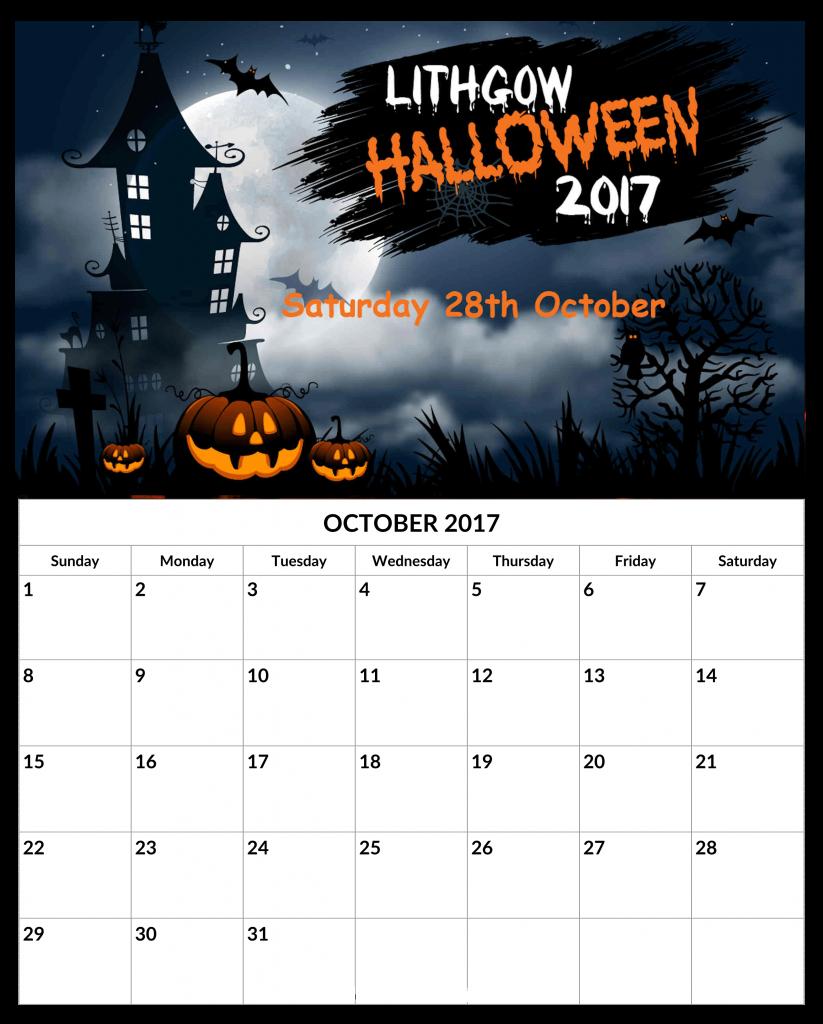 Calendar October 2019 With Holidays