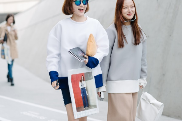 Korean style dress 2018 images
