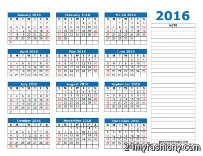 2016-2017-2017 Calendar images 2016-2017 | B2B Fashion