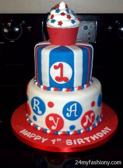 Enjoyable 4Th Of July Birthday Cakes Images Looks B2B Fashion Funny Birthday Cards Online Necthendildamsfinfo