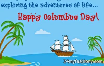 Adventure life of columbus day