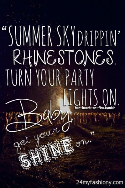 Beaches] Summertime quotes country