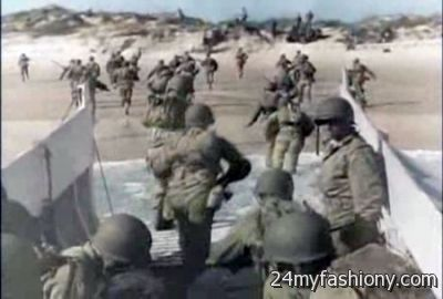D-Day In Color images looks | B2B Fashion