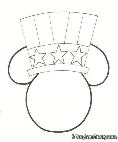 July 4 Coloring Pictures : Disney 4th of july coloring pages images 2016 2017 b2b fashion