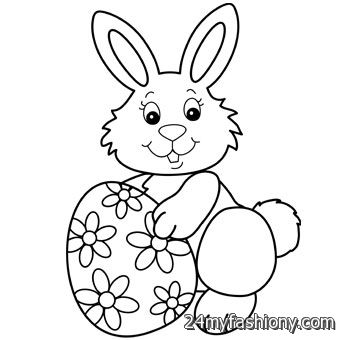 easter 2017 coloring pages - easter bunny coloring pages images 2016 2017 b2b fashion