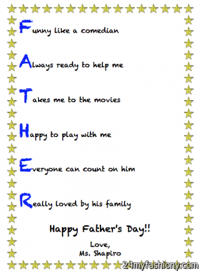 Fathers Day Poems Images Looks B2b Fashion