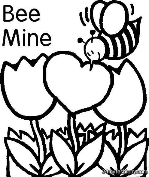 February Coloring Pages 2016 2017 B2B Fashion