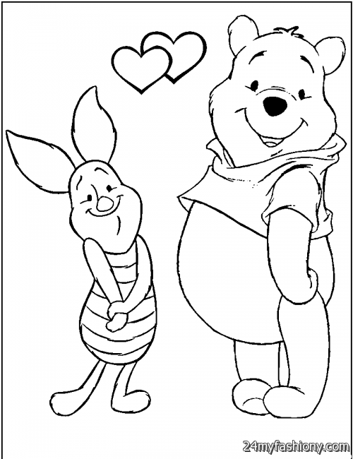 February Coloring Pages For Kids Stock Illustration - Illustration ... | 650x500