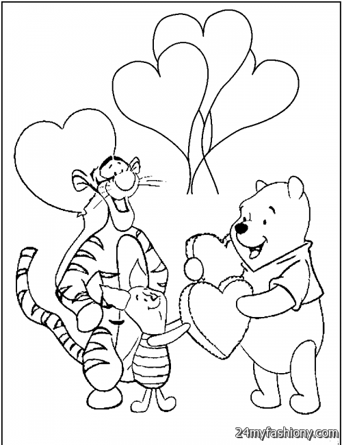 February Coloring Pages For Kids 2016-2017 | B2B Fashion
