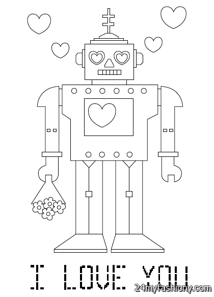 February Coloring Pages For Kids 2016-2017