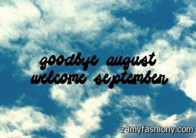 Goodbye August Hello September images 2016-2017  B2B Fashion