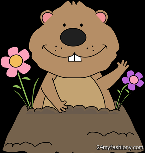 Groundhog Day Clipart images 2016-2017 » B2B Fashion