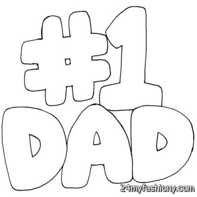 Happy Fathers Day Coloring Pages images 2016-2017 | B2B Fashion