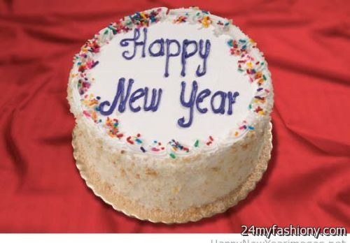 Cake Designs For New Year 2018 : Happy New Year Cake images 2016-2017 B2B Fashion