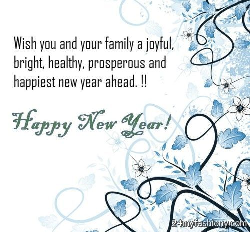 happy new year card sayings
